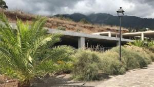 Parkplätze und ein Anbau: Der Agromercado in Brena Alta wird ausgebaut.