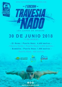 Erste Travesia a Nado im Westen von La Palma: