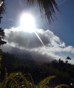 Winter und Frühjahrsanfang auf den Kanaren: Nach vier Jahren Trockenheit und Wärme kam mal wieder eine kalte Saison mit viel Wolken, Wind und Regen. Foto: La Palma 24