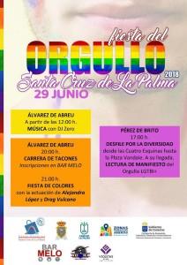 Fiesta del Orgullo: Fest des Stolzes.