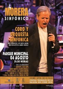 Luis Morera: singt zusammen mit Sinfonie-Orchester und Chor.