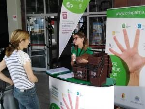 Diese Woche: Der Infostand mit den Gratis-Kits für den Biomüll öffnet an der Strandpromenade von Tazacorte. Foto: Cabildo