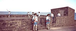 Wie vor 275 Jahren: Show im Castilo