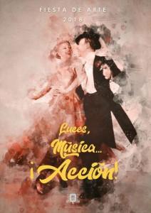 Los Llanos: Kunstfest-Plakat.
