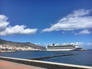 Der weltweite Kreuzfahrt-Boom zeigt sich auch auf La Palma:
