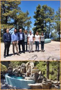 Lokaltermin am Mirador del Universo in Tijarafe
