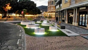 Ortsmitte im Stadtteil Argual: