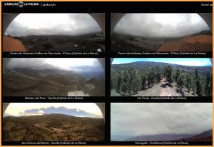 Neu: Webcam-Portal, eingerichtet vom Cabildo La Palma.
