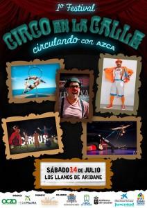 Los Llanos: Zirkus in der Stadt.