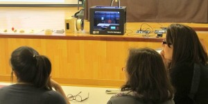 3D-Drucker-Workshops an den Schulen: ein voller Erfolg! Foto: Cabildo