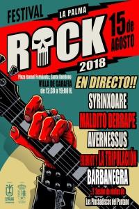 Premiere: Festival La Palma Rock in Garafía.