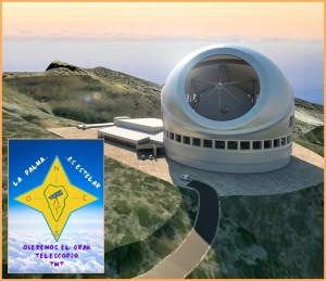 """""""La Palma will das TMT"""": Dazu gibt es jetzt eine Facebook-Seite."""