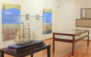 Aktuelle Ausstellung im Bajada-Besucherzentrum: Schiffsbau auf La Palma und der Segler La Verdad. Foto: La Palma 24