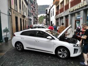E-Fahrzeuge-Messe in Santa Cruz: Auf La Palma tut sich was in Elektromobilität. Foto: Cabildo