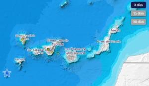 IGN-Grafik: Auf La Palma wurden in den vergangenen drei Tagen drei leichte Beben gemessen.