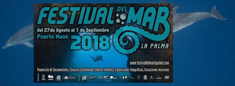 Schöne Aussichten für Freunde des Meeres. Vom 27. August bis zum 1. September 2018 laden das Cabildo und die Organisation Isla Azul zum dritten Mal zum Festival del Mar nach Puerto Naos ein. Wie immer gibt es tolle Bilder aus den Ozeanen dieser Welt zu sehen, Workshops für Kinder, Gespräche und Fotowettbewerbe im Atlantik. In diesem Sommer soll das Fest die Ausbeutung der Meere zum Schwerpunkt haben. Laut Isla Azul hat sich das Festival del Mar inzwischen zu einer Referenz in der Fachwelt der Kanaren gemausert. Für 2018 kündigt die Blaue-Insel-Gemeinschaft an, dass man das Event zusammen mit der Asociación Gastronóica Palera (AGAP) im Blick auf das leibliche Wohl der Besucher bereichern wolle. Zum gesamten Programm hier klicken.