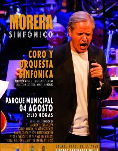 Der Allroundkünstler und Sänger Luis Morera: Bei der El Paso-Fiesta mit Orchester.