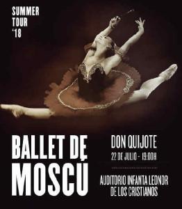 Don Quijote: tänzerische Darstellung mit dem Moscow Ballet.