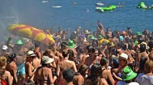 Das Fest der Muräne: Spaß am Strand von Tazacorte. Foto: Gemeinde