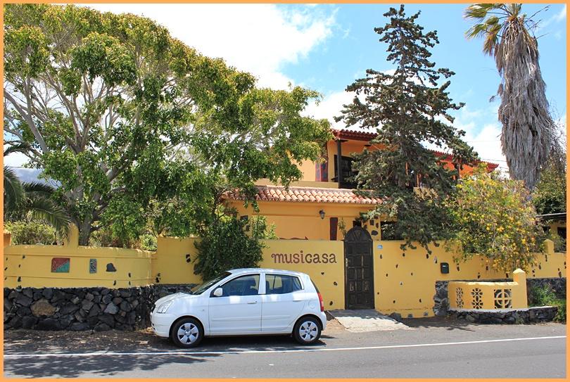 Wie es weitergeht mit der Musicasa steht noch in den Sternen: Vielleicht führen die künftigen Besitzer die Pension von Ödi ja weiter... Foto: La Palma 24