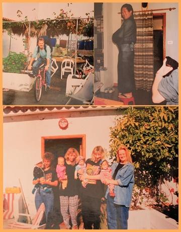 Die Musicasa in den 1990er-Jahren, noch weiß gestrichen: Ödi empfing Gäste aller Couleur - vom damals noch exotischen Radler über Touristen aus Japan bis hin zu Krabbelgruppen aus Deutschland.