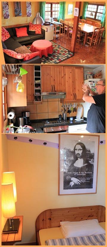 Ödis Konzept der Musicasa bewährte sich 30 Jahre lang: Gemeinschaftswohnbereich und Gemeinschaftsküche - in den Schlafzimmern herrscht Privatsphäre. Fotos: La Palma 24