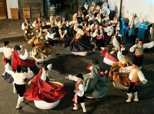 Folklore in der Hauptstadt: