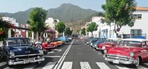 Immer eine Augenweide: Die Blechschönheiten vom Oldtimer-Club El Paso. Foto: La Palma 24