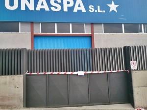Noch ist das UNASPA-Asphaltwerk nicht in Betrieb: Allerdings liegt die Lizenz vor.