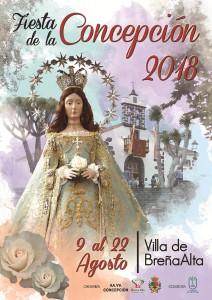 Fiesta de Concepción: Schutzheilige von Breña Alta wird gefeiert.