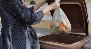 Biomüll kann in Los Llanos, El Paso, Fuencaliente und Tazacorte in die Braunen Tonnen geworfen werden: Betriebe und Gasthäuser können spezielle auf sie zugeschnittene Container für organische Abfälle anfordern. Foto: Cabildo