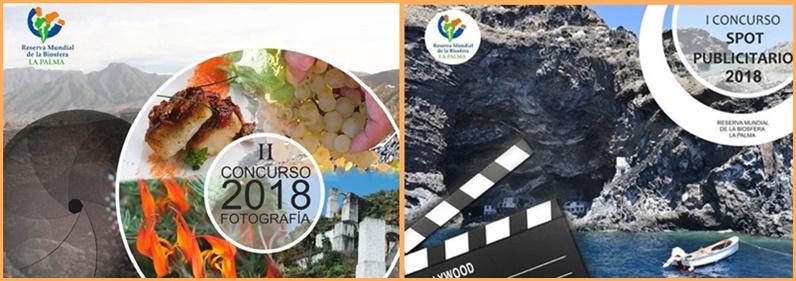 Fotowettbewerb der Biosfera. Die Fundación Canaria Reserva Mundial de la Biosfera La Palma ruft den zweiten Fotowettbewerb und den ersten Concurso Spot Publicitario aus. Ziel ist, Land und Leute von La Palma ins rechte Bild zu setzen. Ausgelobt sind Geldpreise, und die Einsendungen müssen bis zum 15. Oktober 2018 erfolgen. Alle Details der Ausschreibung sollen auf der Internetseite der Biosfera eingestellt werden.