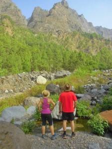 Die Caldera de Taburiente: Im Nationalpark von La Palma waren
