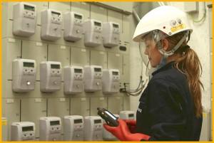 Die neuen digitalen Stromzähler: Auf La Palma sollen bis Ende 2018 alle contadores ausgetauscht sein. Pressefoto Endesa