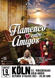 Auch noch im September: Die Flamenco-Spezialisten aus La Palma touren weiter.