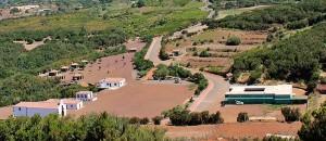 Ein Beispiel auf La Palma, wohin die FDCAN-Gelder für den landwirtschaftlichen Bereich fließen: Im Freizeitpark in