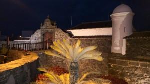 Santa Catalina: Nachtführungen durchs Castillo.