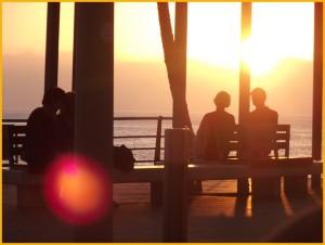 Sunset auf La Palma: Wunderschön, aber bitte niemals ohne Sonnenbrille genießen! Foto: La Palma 24