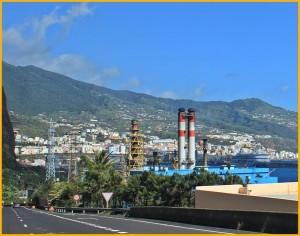 Kraftwerk Los Guinchos in Santa Cruz: Hier produziert die Endesa den überwiegenden Teil des auf La Palma benötigten Stroms aus Diesel. Foto: La Palma 24