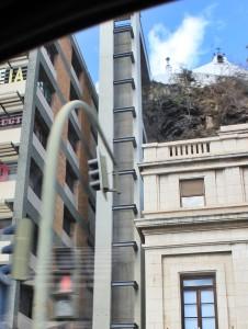 """Der """"Rohbau"""" steht: Jetzt muss in der letzten Bauphase der Aufzug eingebaut werden. Foto: La Palma 24"""