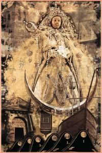 Die Statue der Virgen de las Nieves: steht im religiösen Mittelpunkt des Festes.