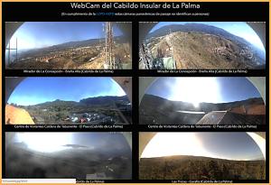 Cabildo-Webcams: Hilfen für Ausflüge rings um die Insel.