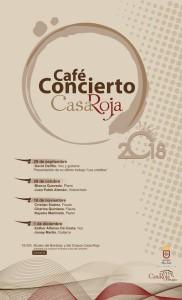 Café-Konzerte: Das Programm.
