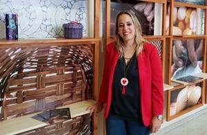 Susana Machín: Die Inselrätin verteilt 10.000 Euro an die KunsthandwerkerInnen. Foto: Cabildo