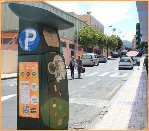 Parkometer nein, danke: Die Telpark-App ermöglicht es, das Parken in Los Llanos bargeldlos abzuwickeln. Foto: La Palma 24