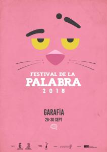 Der Rosarote Panther: Wortloses Symbol für das Festival des Wortes.