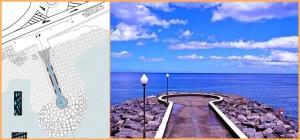 Der Atlantik im Osten von La Palma ist wild: Der Mirador infinito soll verstärkt werden. Fotos: Gemeinde