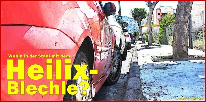 Parken in Los Llanos und Santa Cruz: Ein extra Artikel gibt darüber Auskunft. Foto: La Palma 24