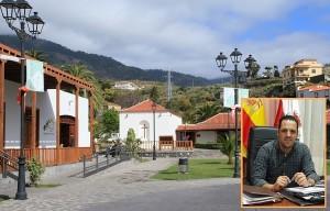 Rathauschef Jonathan Felipe freut sich: Im Parque Los Álamos tut sich was. Fotos: Breña Alta