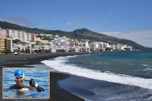 In den Sand gesetzt: Daumen runter statt Daumen hoch, Jonathan García sagte seinen Weltrekordversuch zur großen Enttäuschung der Open Water-Schwimmfans und der engagierten Stadtverwaltung von Santa Cruz ab.
